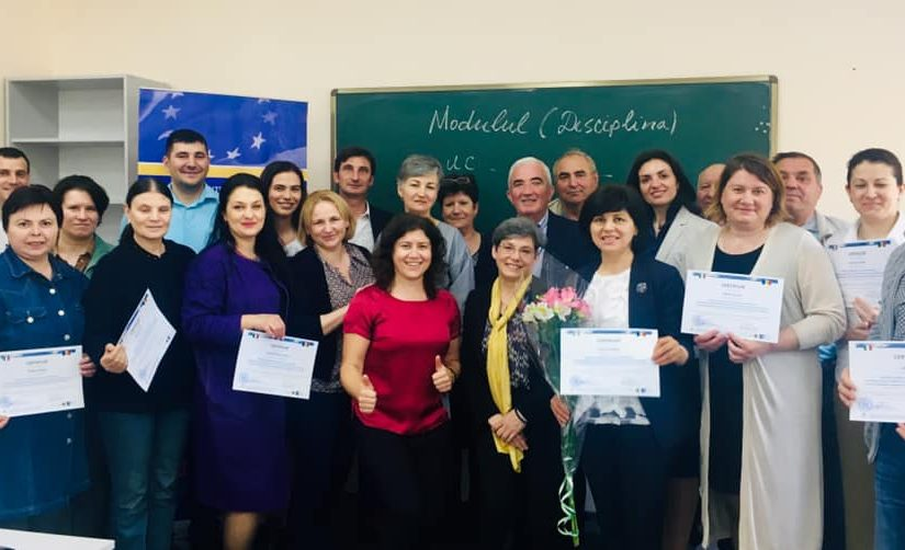 "EU Twinning Project ""Support to promote cultural heritage in the Republic of Moldova, through its preservation and protection"" has implemented many activities sharing Italian approaches and experience in conservation/restauration with Moldovan specialists."
