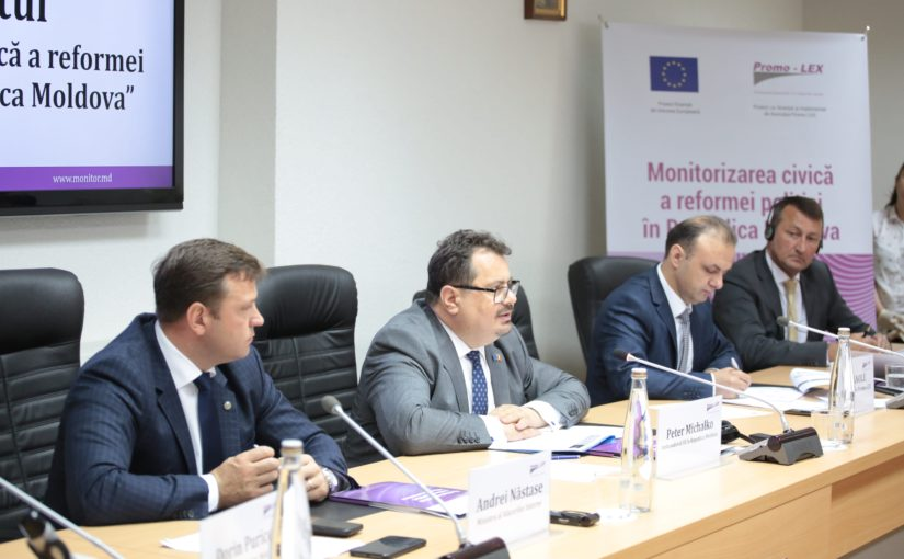 "Promo-LEX Association launched the ""Civic monitoring of the Police reform in Moldova"" Project"