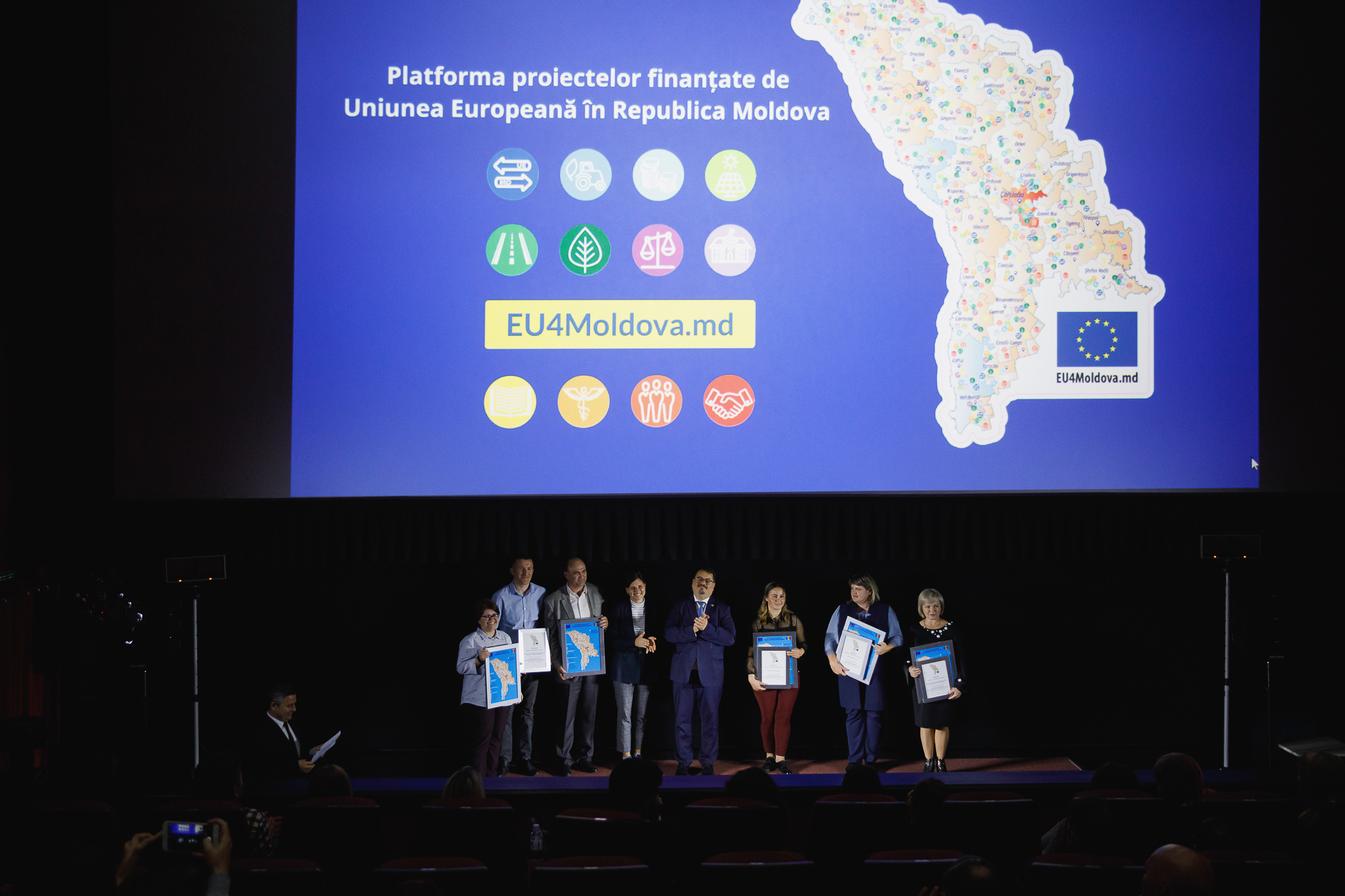 EU4Moldova.md – Platform of EU-funded projects launched in the Republic of Moldova
