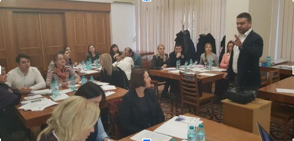 "Trainings for the State Chancellery supported by the EU project ""Support to the Public Administration Reform in the Republic of Moldova"""