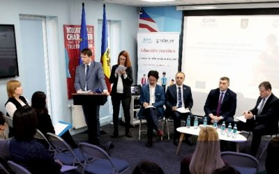 Building communities of legal professionals for impact on rule of law in R. Moldova