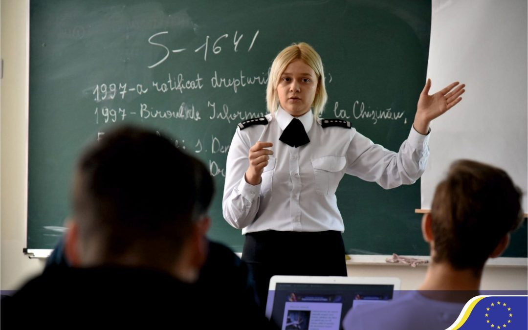 Policemen as drivers for positive change in the Republic of Moldova