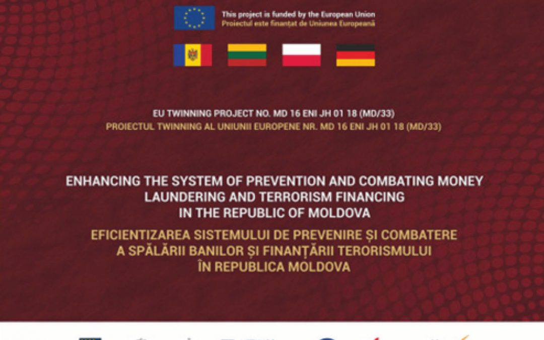 Enhancing the system of prevention of money laundering and terrorism financing in the Republic of Moldova – transferred all the activities in online mode