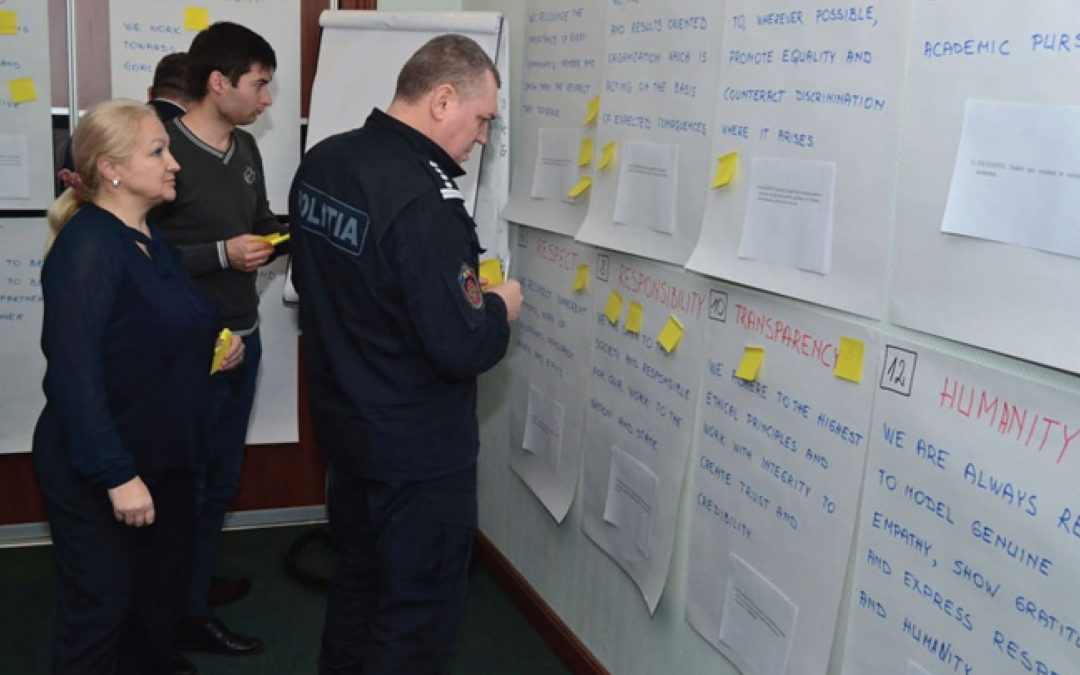 """Reform of the initial and continuous training of the police system in the Republic of Moldova"" resumed its activity"