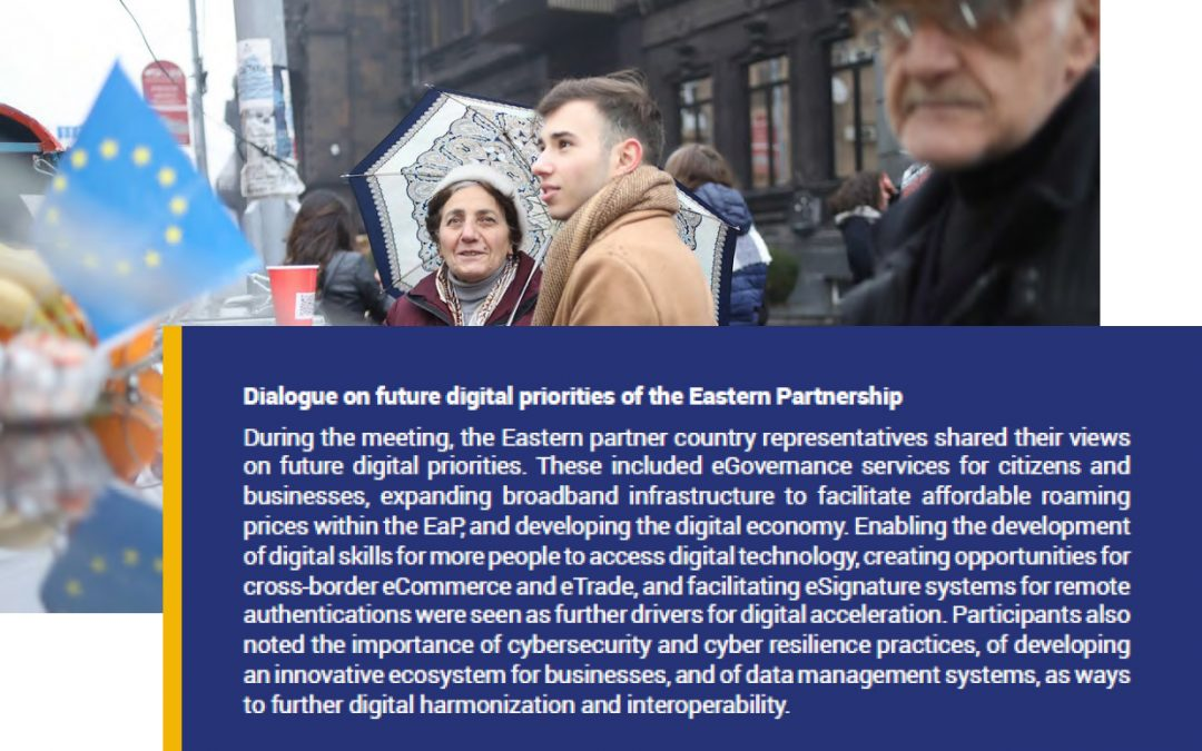WHAT WILL EASTERN PARTNERSHIP PRIORITIES ON DIGITAL LOOK LIKE BEYOND 2020?