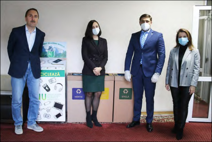 LAUNCHING OF THE SEPARATE COLLECTION AND RECYCLING OF WASTES DURING THE EU GREEN WEEK 2020 IN MOLDOVA