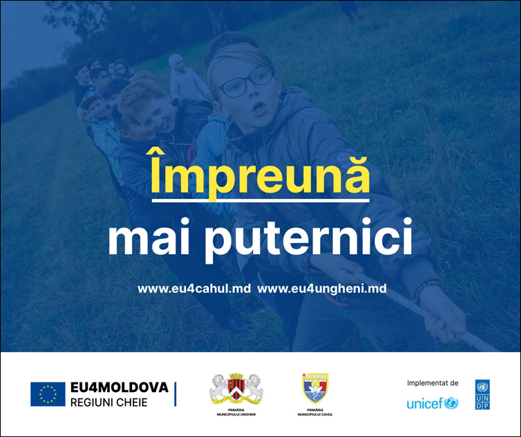 EU4MOLDOVA: 70 COMMUNITIES FROM FOCAL REGIONS CAHUL AND UNGHENI JOIN EFFORTS TO COOPERATE IN THE LOCAL ECONOMIC DEVELOPMENT