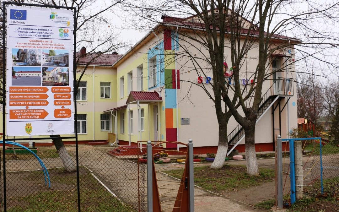 THERMAL REHABILITATION IN CANTEMIR WITH THE SUPPORT OF THE EUROPEAN UNION