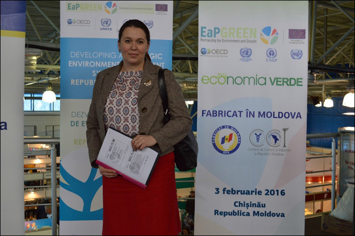 "DATE: 29/01/2021 – 6TH HIGH LEVEL NATIONAL ROUND TABLE ""GREEN ECONOMY. MADE IN MOLDOVA"" EASTERN PARTNERSHIP: FROM GREEN ECONOMY TO THE EUROPEAN GREEN DEAL"
