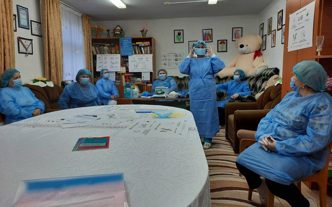 WITH THE SUPPORT OF EUROPEAN UNION, 2 200 PERSONS WITH DISABILITIES AND STAFF FROM 6 RESIDENTIAL INSTITUTIONS BECAME BETTER PROTECTED AGAINST COVID-19 PANDEMIC