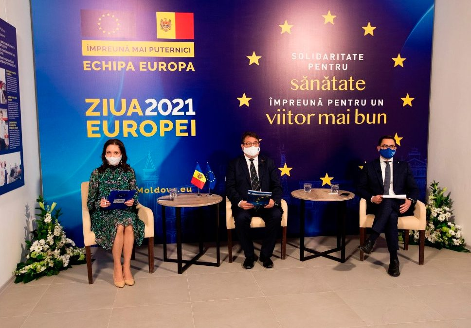 EUROPE DAY 2021 – SOLIDARITY FOR HEALTH, TOGETHER FOR A BETTER FUTURE!
