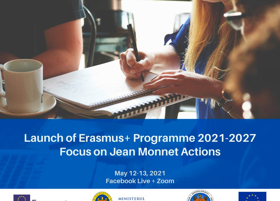 LAUNCH OF THE NEW ERASMUS+ PROGRAMME 2021-2027 IN THE REPUBLIC OF MOLDOVA, FUNDED BY THE EUROPEAN UNION