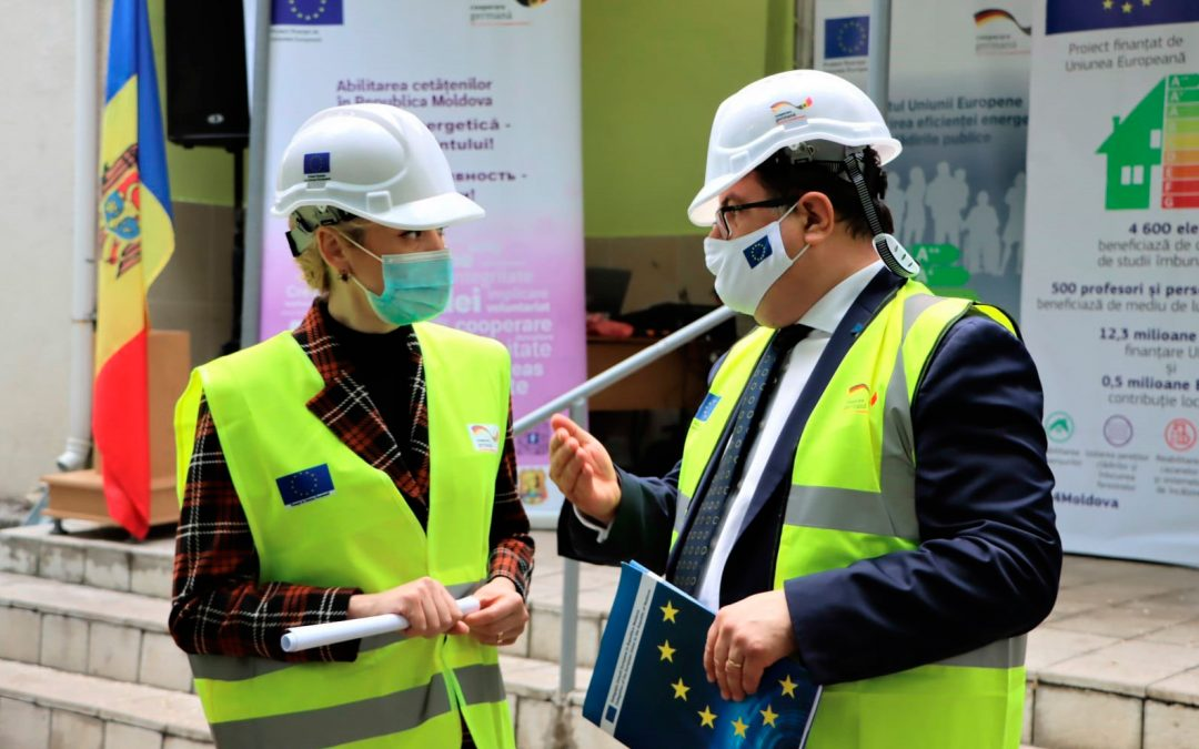 WITH EUROPEAN UNION SUPPORT AROUND 1 000 PUPILS AND TEACHERS FROM BALTI MUNICIPALITY WILL BENEFIT FROM IMPROVED LEARNING ENVIRONMENT AND WORKING CONDITIONS