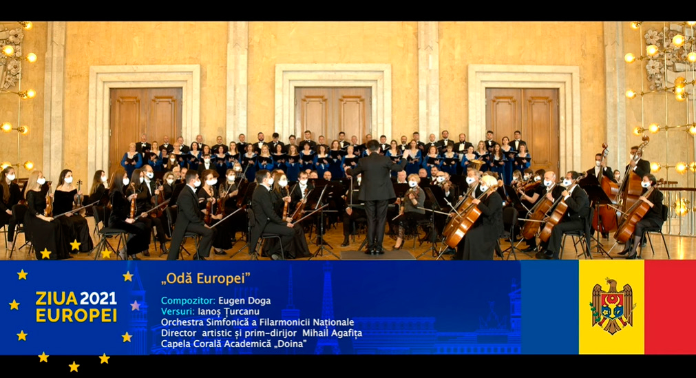 PREMIERE: GREAT MAESTRO EUGEN DOGA LAUNCHED A SONG DEDICATED TO THE EUROPEAN UNION ON THE OCCASION OF EUROPE DAY 2021