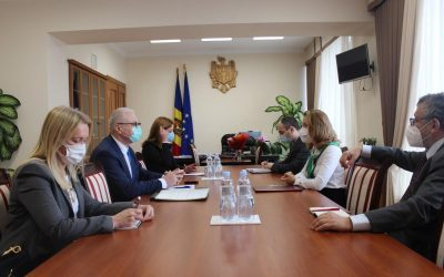 HEAD OF EUBAM MEETS WITH THE DEPUTY PRIME MINISTER FOR REINTEGRATION IN CHISINAU