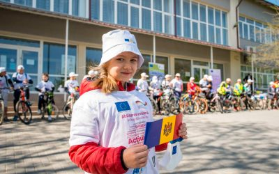 EUROPE DAY AND ENERGY DAY MARKED TOGETHER IN THE LOCALITIES OF STRĂȘENI