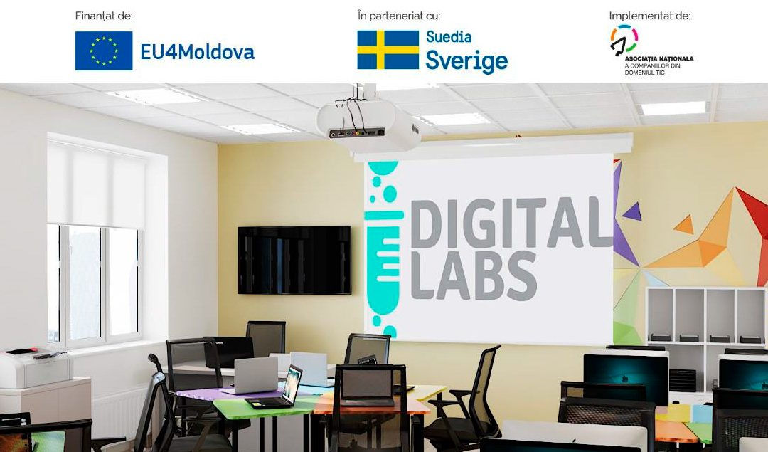 EUROPEAN UNION WILL SUPPORT CREATION OF DIGITAL LABORATORIES IN 9 HIGH SCHOOLS IN THE CAHUL RAYON