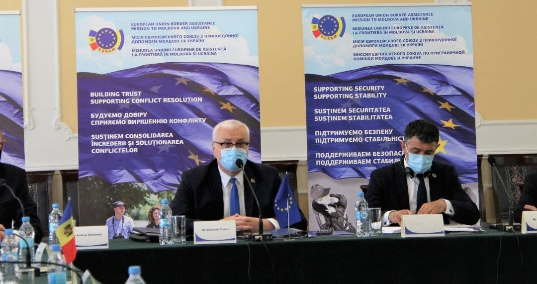 EUBAM BOLSTERS COOPERATION BETWEEN SECURITY SERVICES OF THE REPUBLIC OF MOLDOVA AND UKRAINE