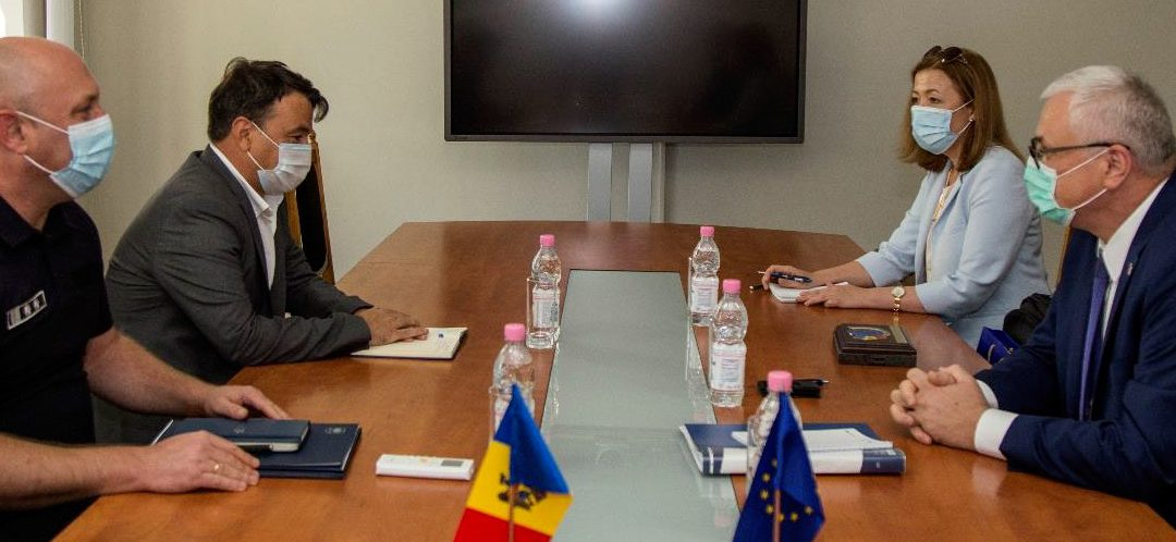 HEAD OF EUBAM MISSION MEETS THE TOP MANAGEMENT OF THE MOLDOVAN BORDER POLICE