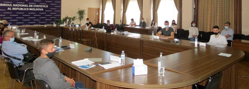 EU TECHNICAL ASSISTANCE TO SUPPORT THE NATIONAL BUREAU OF STATISTICS OF THE REPUBLIC OF MOLDOVA – WORK IN PROGRESS